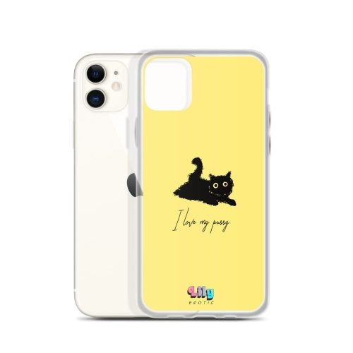 """I love my pussy"" iPhone Case Phone cases"
