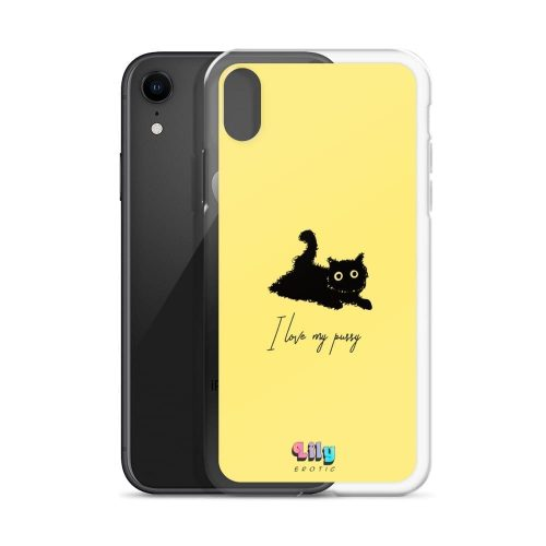 """""""I love my pussy"""" iPhone Case Phone cases"""